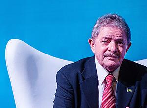 Ex-presidente Lula em evento que aconteceu em SP