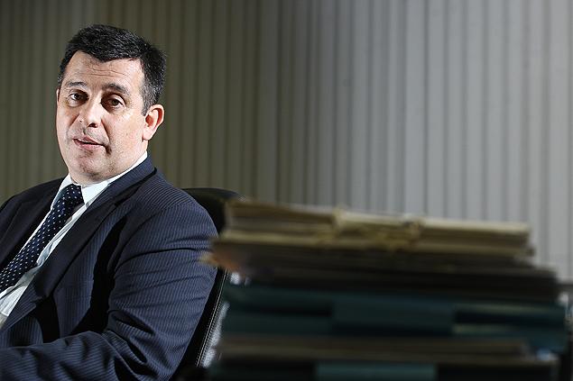 Leandro Daiello Coimbra, diretor-geral da Polícia Federal, em entrevista exclusiva à Folha, no seu gabinete em Brasília