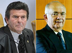 Ministro Luiz Fux e advogado Sergio Bermudes