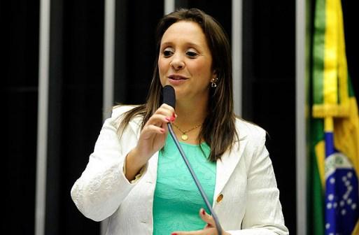 A deputada Renata Abreu (SP), presidente do Podemos