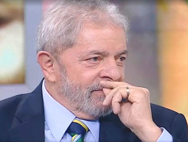 Ex-presidente Lula, em entrevista ao programa SBT Brasil