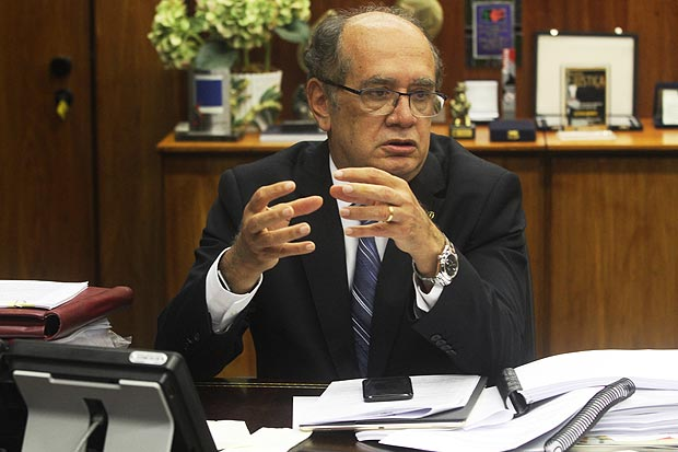 Gilmar Mendes, ministro do STF (Supremo Tribunal Federal)