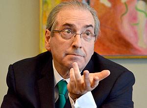Eduardo Cunha, ex-presidente da Câmara e réu na Lava Jato – Renato Costa - 12.mai.16/Folhapress