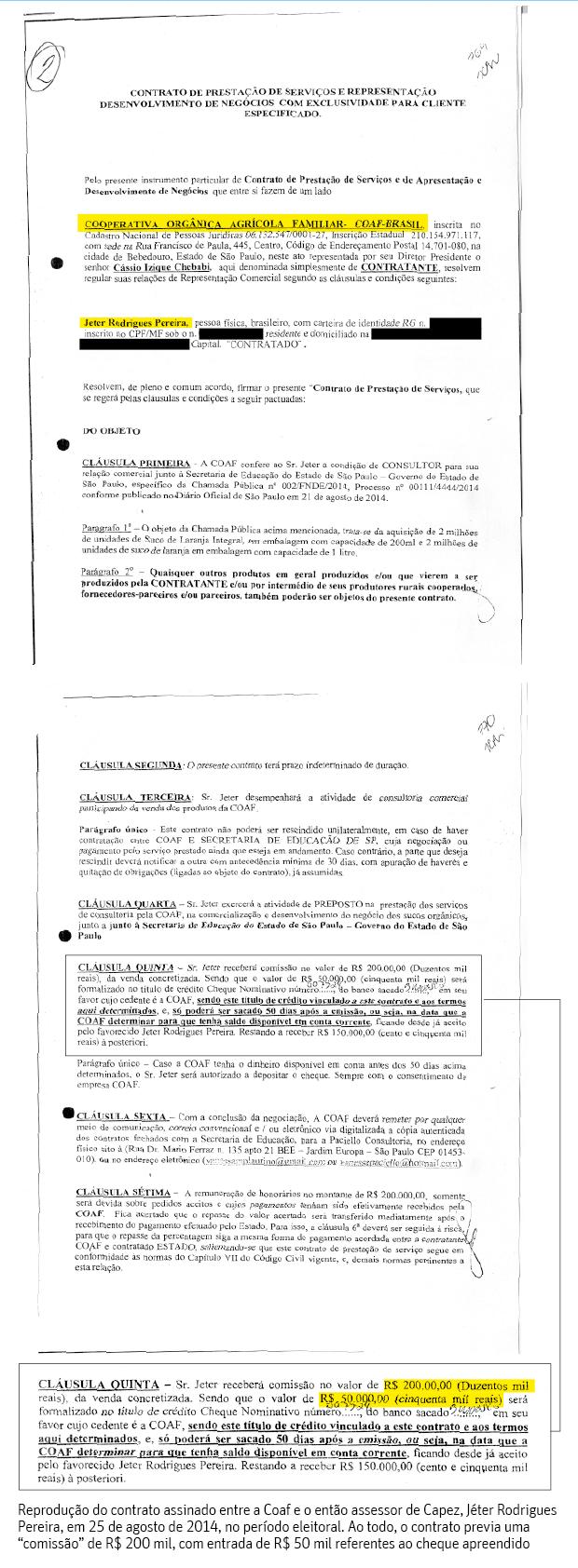 CAMINHO DO DINHEIROInvestigados na máfia da merenda, assessores de Fernando Capez (PSDB) teriam recebido pagamento de propina