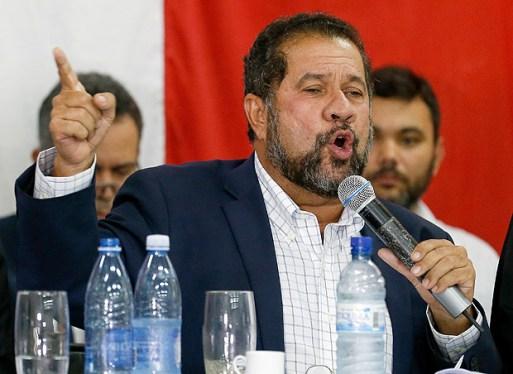 O presidente nacional do PDT, Carlos Lupi