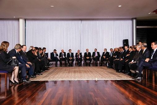 Reunião de Temer com governadores em Brasília