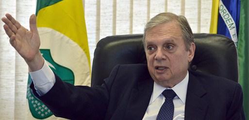 O senador Tasso Jereissati (PSDB-CE), presidente interino do partido