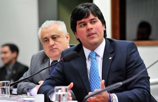 O deputado André Fufuca