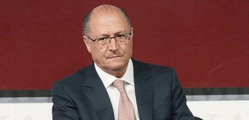 O governador Geraldo Alckmin durante evento em São Paulo