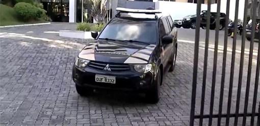 Geddel é levado em carro da PF após pedido de prisão da PF, endossado pelo Ministério Público Federal