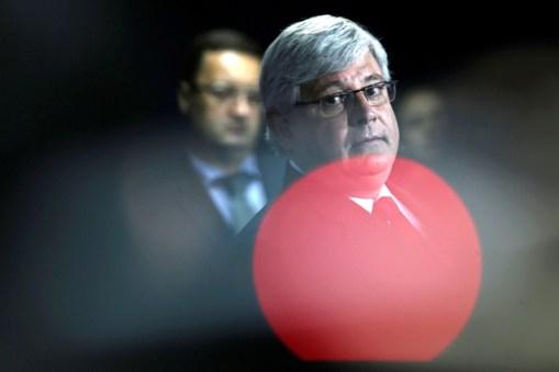 Rodrigo Janot, que deixa nesta segunda (18) o posto de procurador-geral da República
