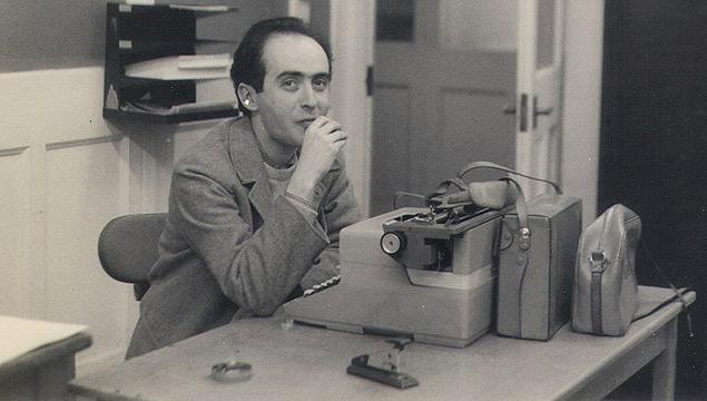 Vladimir Herzog na redação, em 1966