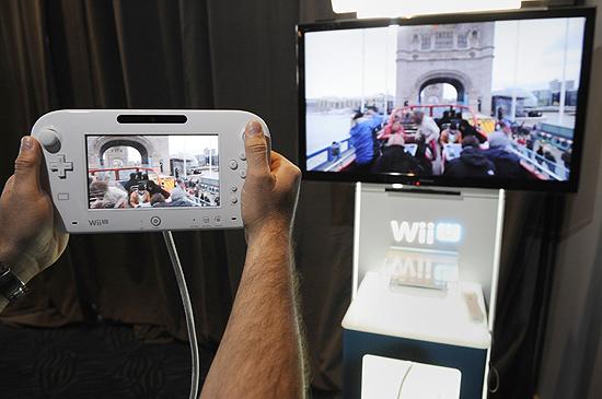 Demonstração do Wii U, da Nintendo, na E3 2012