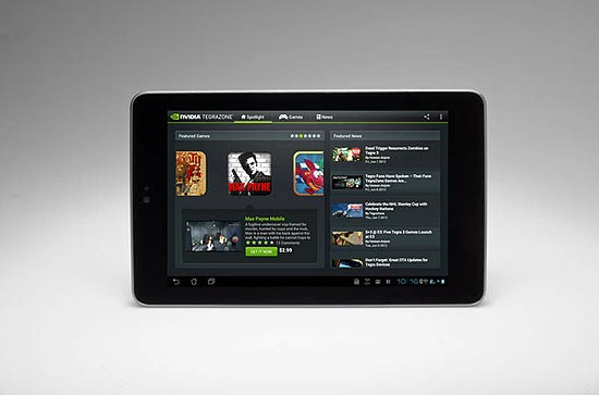 O tablet Nexus 7
