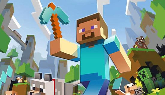 """Cena de """"Minecraft"""", game que não fará parte da Windows Store"""