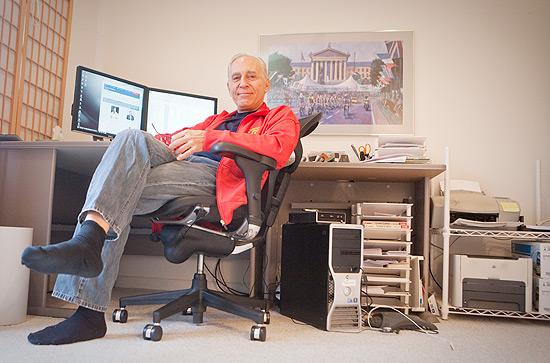 Ron Kahlow, diretor do Vote-USA.org, que descobriu por que o site perdia audiência vinda do Google