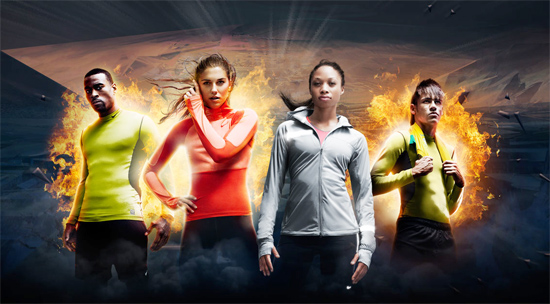"Calvin Johnson, Alex Morgan, Allyson Felix e Neymar Jr.: atletas do ""NikeFuel Missions"""