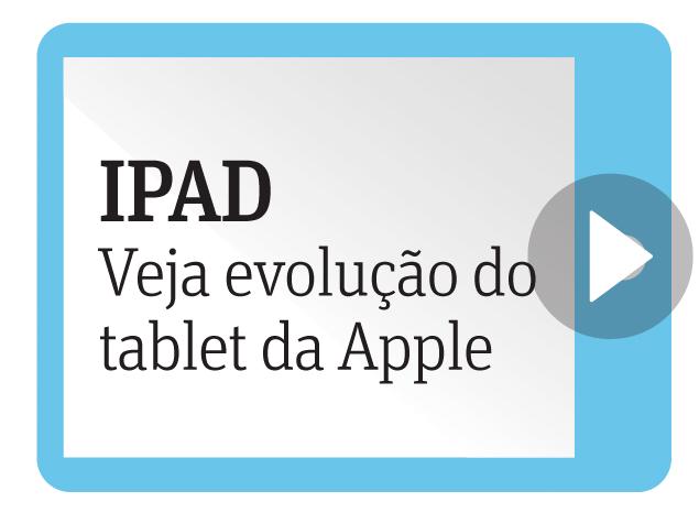 Ipad - Veja evolução do tablet da Apple