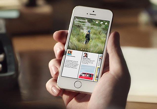 Paper, aplicativo do Facebook para leitura de notícias