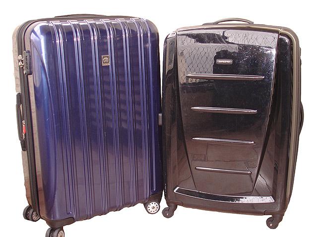 Malas Delsey e Samsonite alugadas pela Rent a Bag