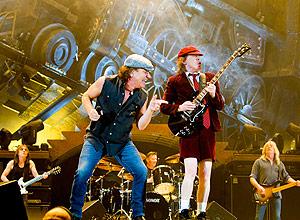 Banda AC/DC em show na Noruega