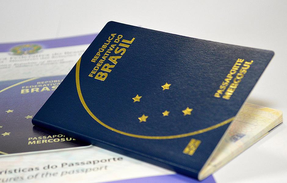 O novo modelo de passaporte brasileiro