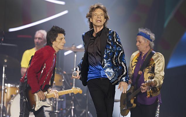 Show da banda Rolling Stones, nesta quarta (24), no estádio do Morumbi, em São Paulo (SP)