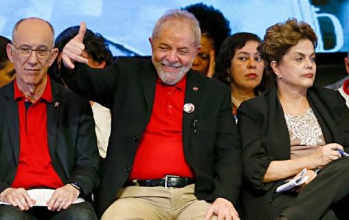 Abertura do 6º Congresso Nacional do PT (Partido dos Trabalhadores), nesta quinta-feira (1º) no Centro de Eventos Brasil 21, em Brasília (DF). Presença do ex-presidente Luiz Inácio Lula da Silva, ex-presidente Dilma Rousseff, presidente do PT, Rui Falcão