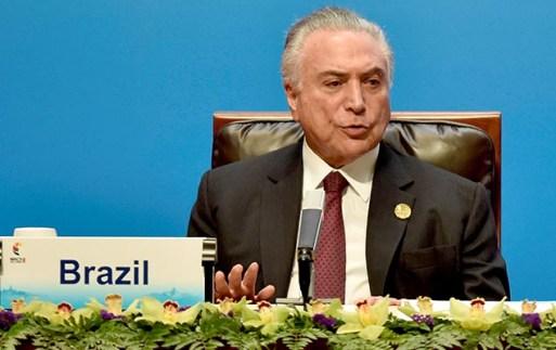 Michel Temer participa de encontro dos Brics (grupo formado por Brasil, Rússia, Índia, China e África do Sul), em Xiamen, na China