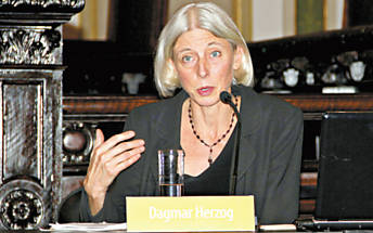 A historiadora Dagmar Herzog, da Universidade da Cidade de Nova York