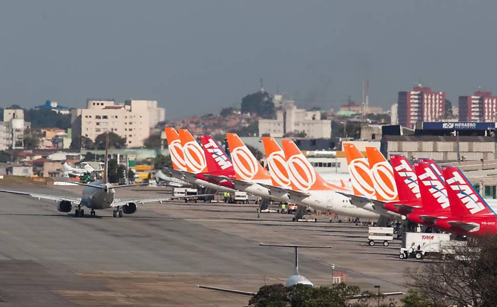 Resultado de imagen para aeroporto congonhas aerolinhas brasileiras
