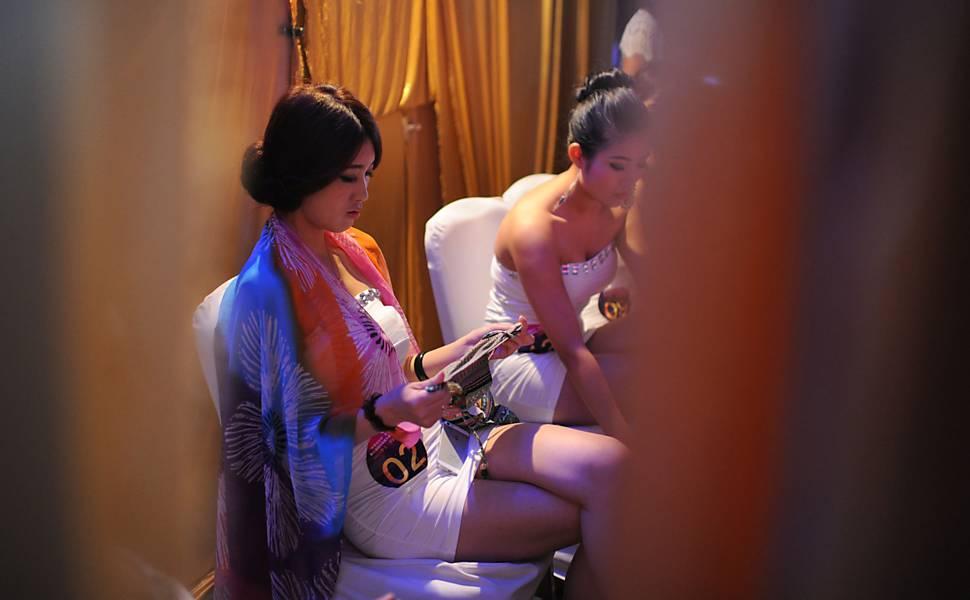 Concurso elege seios mais bonitos na China  06022019