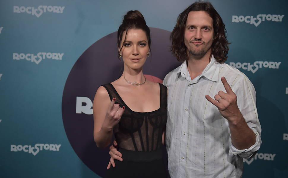 Nathalia Dill, que viverá as gêmeas Lorena e Júlia, e Vladimir Brichta, o Guilherme Santiago de 'Rock Story'