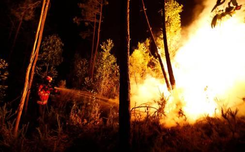 Resultado de imagem para Incêndio florestal deixa ao menos 62 mortos em Portugal