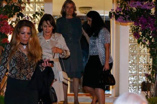 Da esq. para a dir., Cristina Machado, Maria Cristina Peduzzi, Cármen Lúcia e Grace Mendonça