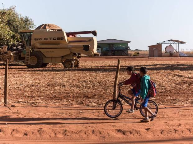 Vista geral de usina 'flex', que produz etanol (etanol) tanto com cana-de-doçura quanto com milho e sorgo, em Campos de Júlio (MT). (Foto: Glauber Silveira/Divulgação) *** DIREITOS RESERVADOS. NÃO PUBLICAR SEM licença DO DETENTOR DOS DIREITOS AUTORAIS E DE IMAGEM ***
