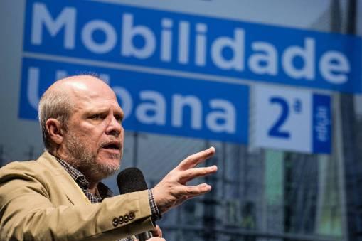 O secretário municipal de Transportes, Sergio Avelleda
