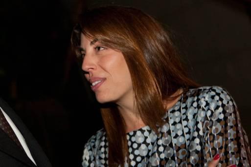 Maristela Temer em 2010, durante jantar oferecido a seu pai, Michel Temer