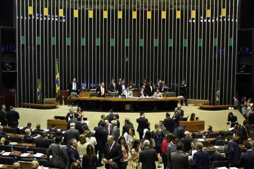 Sessão no plenário da Câmara dos Deputados, em Brasília (DF)