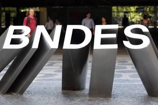 Fachada da sede do BNDES no Rio de Janeiro