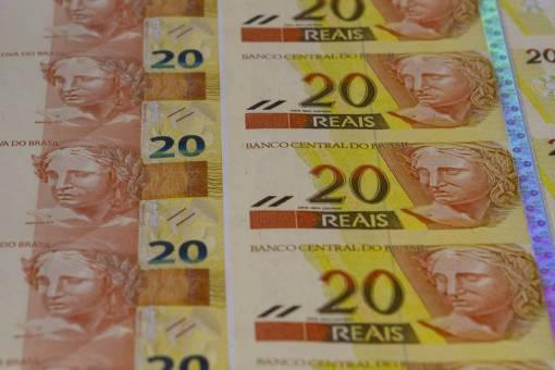 Notas de R$ 20