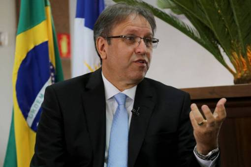 O governador do Tocantins, Marcelo Miranda