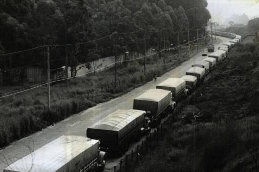 Greves de caminhoneiros