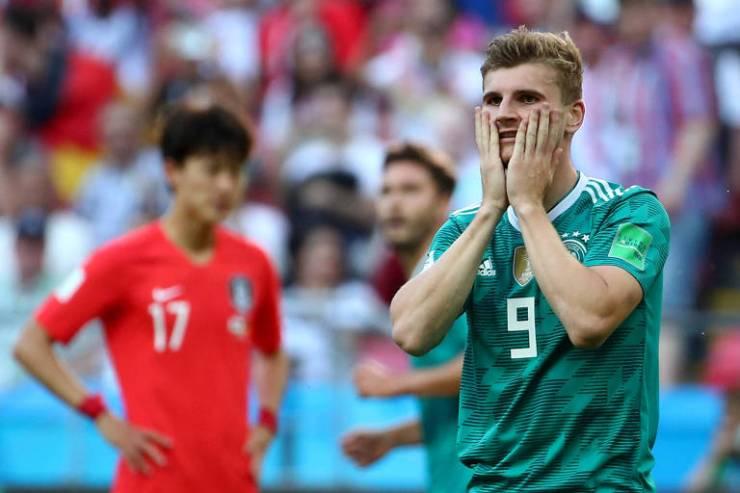 Alemanha nunca havia sido eliminada da Copa desde que o torneio tem fase de grupos