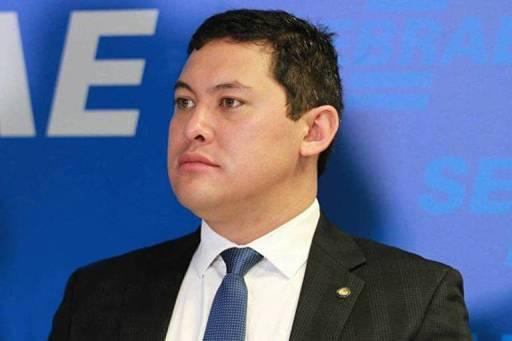 O ministro do Trabalho, Helton Yomura, que teve o afastamento determinado pelo STF