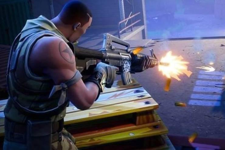 """Captura de tela do game """"Fortnite"""", que inspirou o atirador dos ataques na Nova Zelândia"""