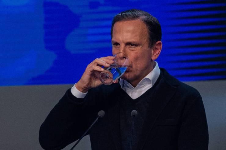 O candidato João Doria (PSDB) durante debate entre candidato ao governo de São Paulo