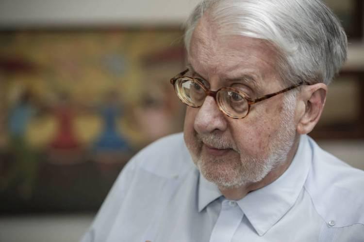 Paulo Sérgio Pinheiro, que é presidente da comissão de inquérito da ONU (Organização das Nações Unidas) sobre a guerra na Síria