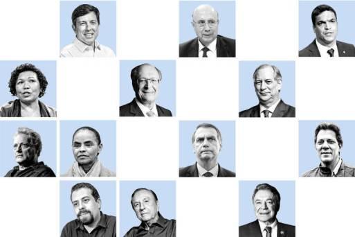 Conheça os candidatos a presidente em 2018