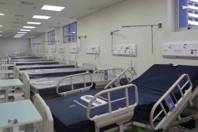 Novo PS do Hospital do Servidor Estadual que foi totalmente adaptado para atender idosos